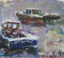 Lobster Catchers by artman757
