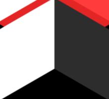 CMYK Geometric. Sticker