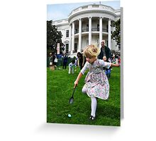 Easter Egg Roll Greeting Card