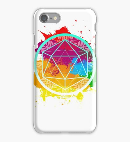 Funky Icosahedron iPhone Case/Skin