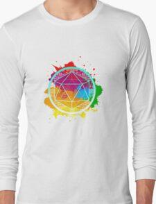 Funky Icosahedron Long Sleeve T-Shirt