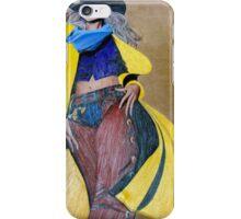 Yellow Slicker, Black Hat iPhone Case/Skin