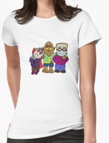 And you thought your kids were little monsters. Womens Fitted T-Shirt