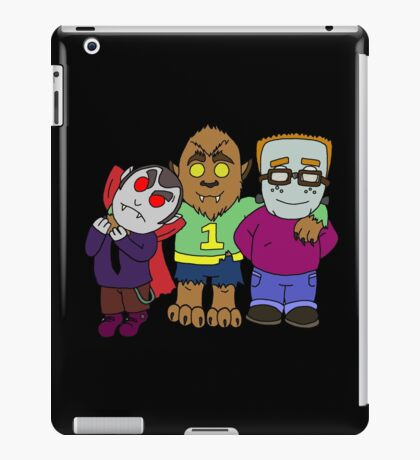And you thought your kids were little monsters. iPad Case/Skin
