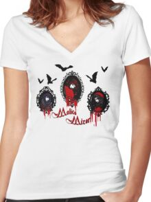 The Malice Family Women's Fitted V-Neck T-Shirt