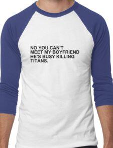 titan-killing boyfriend. Men's Baseball ¾ T-Shirt
