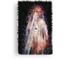 Mother Mary by Mary Bassett Canvas Print