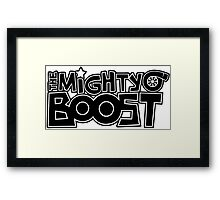 The Mighty Boost Framed Print