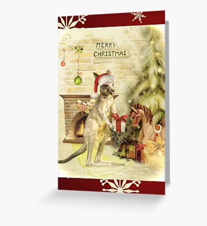 Joeys First Christmas Greeting Card