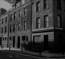 Furnier Street in Black and White by Richard Ray