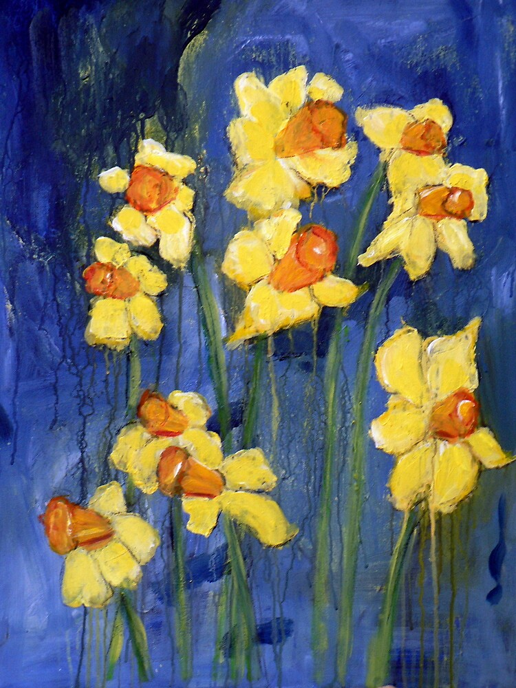 Spring Daffodils by Terry Townsend