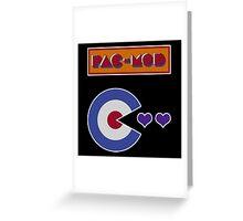 Pac-Mod Greeting Card