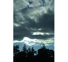 Storm Clouds Rising Photographic Print