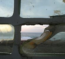 Please Enlarge. Broken window ocean view by waddleudo