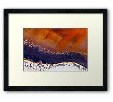 River Runs East Framed Print