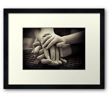 Generations - Hands of Time Framed Print