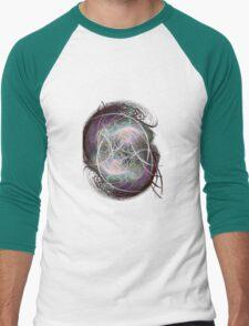 fractal fiberball Men's Baseball ¾ T-Shirt