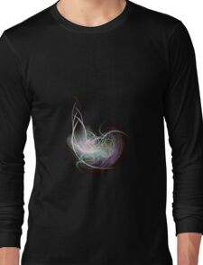 fractal fiberball 2 Long Sleeve T-Shirt