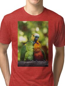 Parrothood Tri-blend T-Shirt