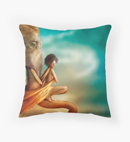 In You I Trust Throw Pillow