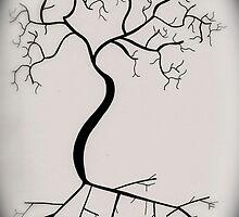 Human Tree by lissyjane