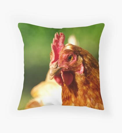Holga Throw Pillow