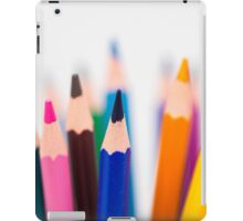 Coloured pencils iPad Case/Skin