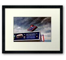 Jersey Shore Americana Framed Print