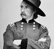 Major General George Armstrong Custer Jan. 4, 1865 by allhistory