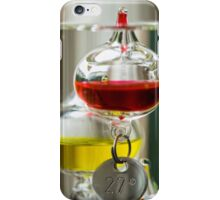 Galileo thermometer iPhone Case/Skin