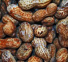 Peanuts - Get your peanuts here by Joe Randeen