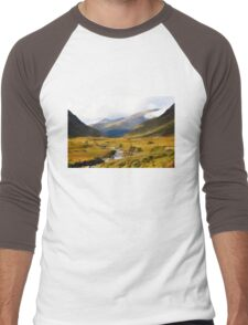 Glen Etive in Autumn Men's Baseball ¾ T-Shirt