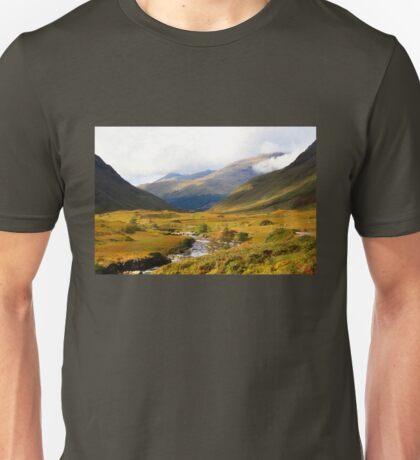 Glen Etive in Autumn Unisex T-Shirt
