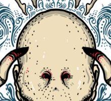 The Pale Man Sticker
