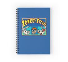 Zonkey Escape 3 stars Spiral Notebook
