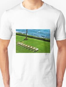 Chairs on the Beach Unisex T-Shirt