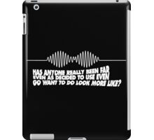 Arctic Imagine How Is Touch The Sky iPad Case/Skin