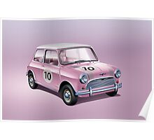 Mini pink Poster