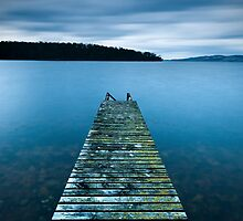 Follow Me.............. - d'Entrecasteaux Channel, Tasmania by Liam Byrne
