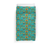 Camping Pattern Duvet Cover