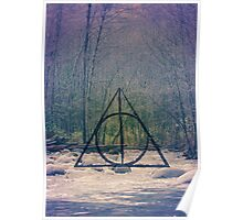 Deathly Hallows // Harry Potter DH Pattern Poster