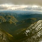 Howqua Valley Panorama by Craig Mitchell
