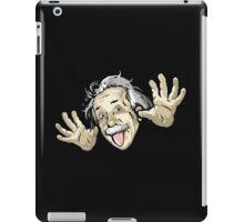 Albert Einstein parody iPad Case/Skin
