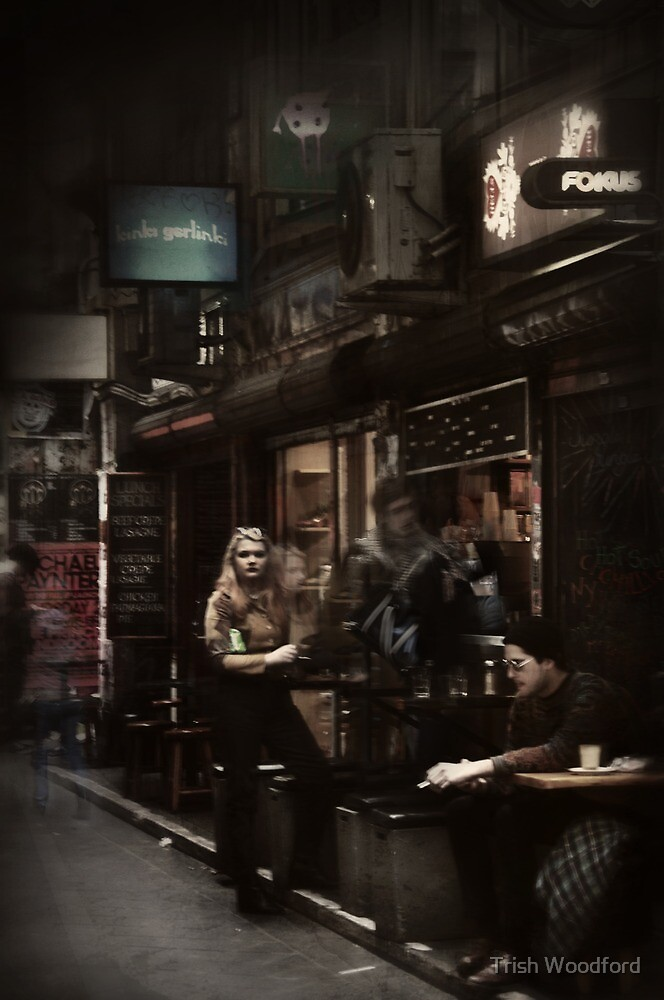 Melbourne's Laneways & Alleys 9 by Trish Woodford