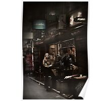 Melbourne's Laneways & Alleys 9 Poster