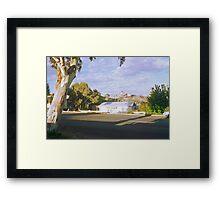 Pastel Landscape... Broken Hill Framed Print