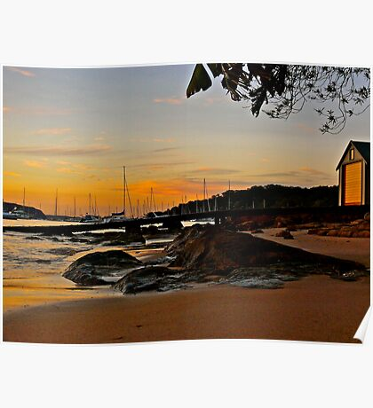 Serenity - Clareville Beach Poster