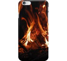Burning wood iPhone Case/Skin