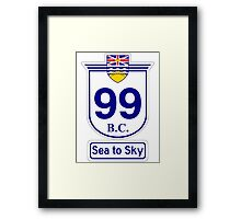 British Columbia 99 - Sea to Sky Framed Print