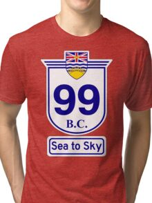 British Columbia 99 - Sea to Sky Tri-blend T-Shirt